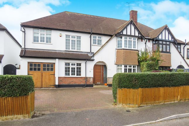 Thumbnail Semi-detached house for sale in Highfield Road, Chelmsford