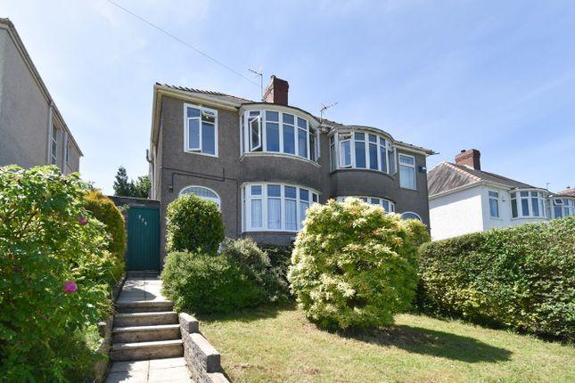 3 bed semi-detached house for sale in Gwynedd Avenue, Cockett, Swansea SA2