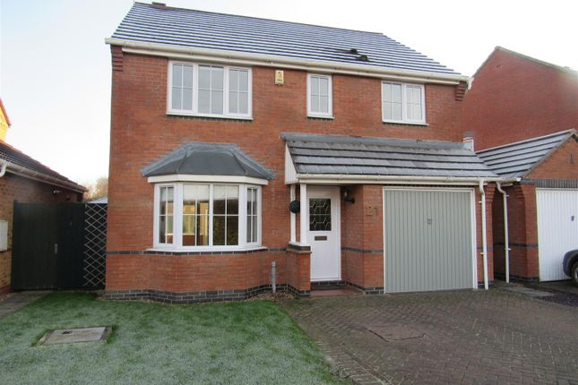 Thumbnail Detached house for sale in Maxwell Way, Lutterworth