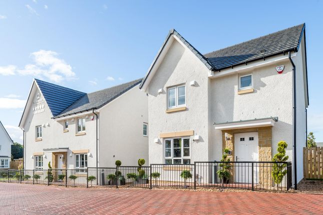 """Thumbnail Semi-detached house for sale in """"Coull"""" at Barochan Road, Houston, Johnstone"""