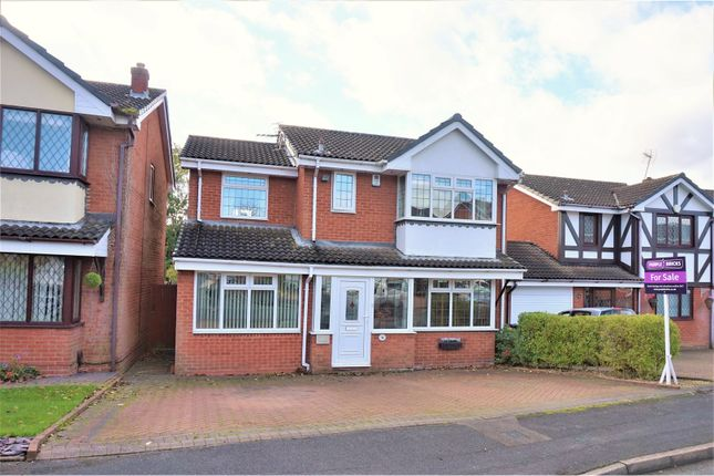 Thumbnail Detached house for sale in Gwendoline Way, Walsall Wood, Walsall