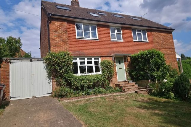 Thumbnail Semi-detached house for sale in Stone Cross Road, Wadhurst