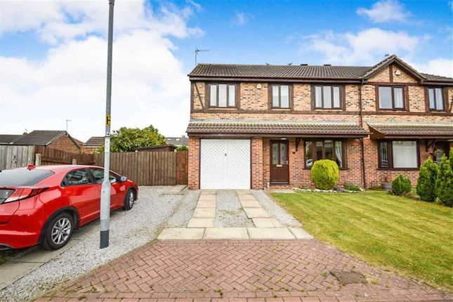 Thumbnail Semi-detached house for sale in Ashdene Close, Willerby, East Riding Of Yorkshire