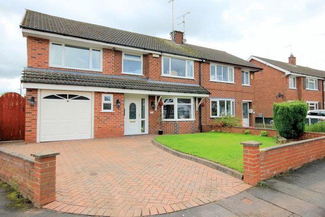 Thumbnail Semi-detached house for sale in Springcroft, Blythe Bridge, Stoke-On-Trent