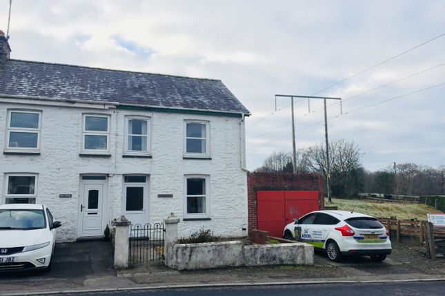 Thumbnail Semi-detached house to rent in Cwmann, Lampeter
