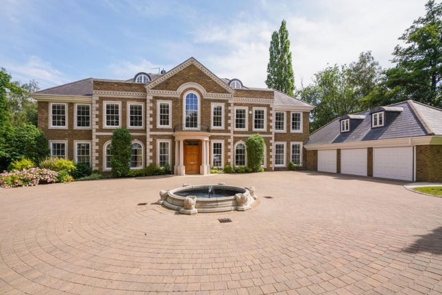 Thumbnail Detached house for sale in Rodona Road, St George's Hill, Weybridge