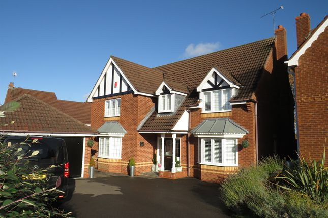 Thumbnail Detached house for sale in Floyd Grove, Balsall Common, Coventry