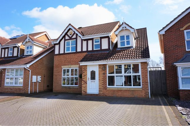 Thumbnail Detached house for sale in Thorpe Downs Road, Swadlincote