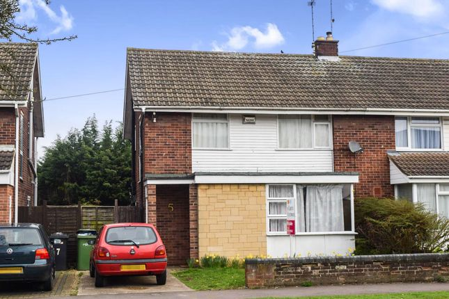 Thumbnail Semi-detached house for sale in Ledbury Road, Netherton, Peterborough