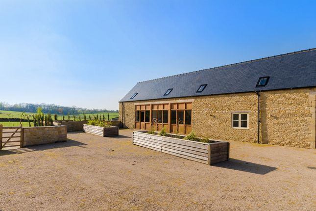 Thumbnail Barn conversion for sale in Great North Road, Wittering, Peterborough