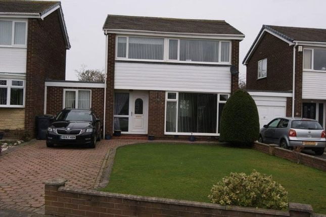 Thumbnail 3 bed detached house for sale in Megstone Court, Garth Twentyone, Killingworth, Newcastle Upon Tyne