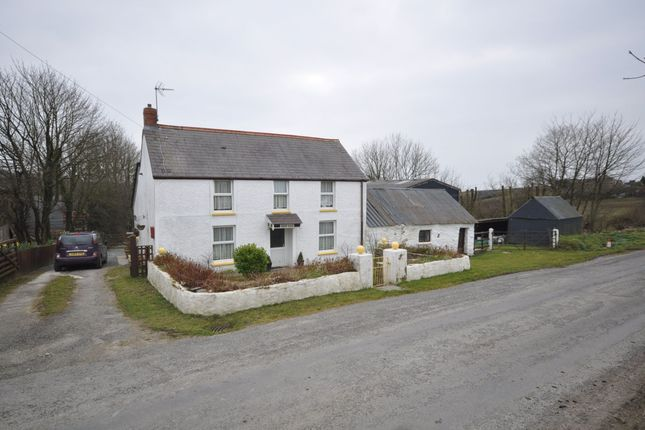 Thumbnail Farmhouse for sale in Blaenpant, Blaenwaun, Whitland, Carmarthenshire