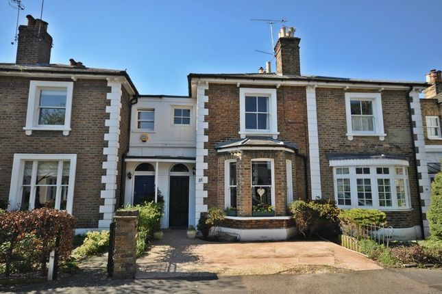 Thumbnail Terraced house for sale in Shaftesbury Road, Kew, Richmond
