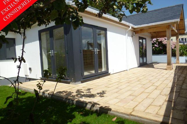 Thumbnail Detached bungalow for sale in Parade Hill, Mousehole, Penzance