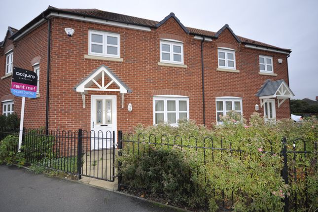 3 bed semi-detached house to rent in Parkway, Chellaston, Derby DE73