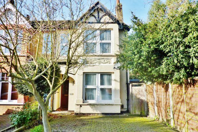 Thumbnail Semi-detached house for sale in West Heath Road, Upper Abbey Wood, London