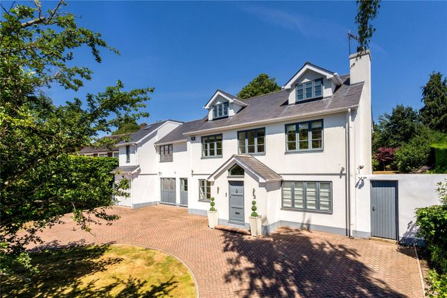Thumbnail Detached house for sale in Hunting Close, Esher, Surrey