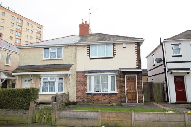 Thumbnail Semi-detached house to rent in Coronation Road, Bilston