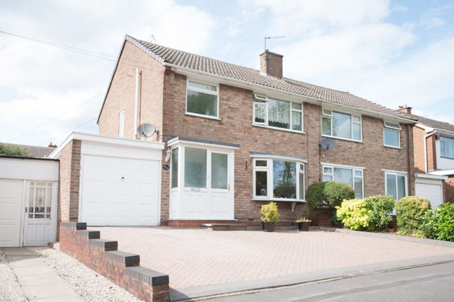 Thumbnail Semi-detached house for sale in Lammermoor Avenue, Great Barr, Birmingham.