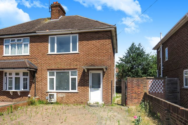 Thumbnail Semi-detached house for sale in Shearley Close, Bedford