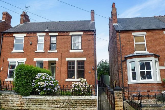 Thumbnail Semi-detached house for sale in Norman Street, Kimberley, Nottingham