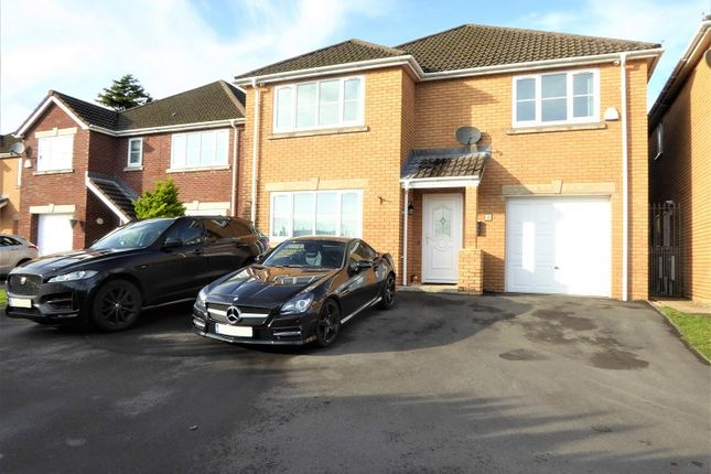 Thumbnail Detached house for sale in Oaktree Close, Brynna, Rhondda Cynon Taff.