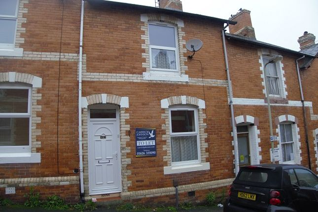 Thumbnail Terraced house to rent in Beaumont Road, Newton Abbot