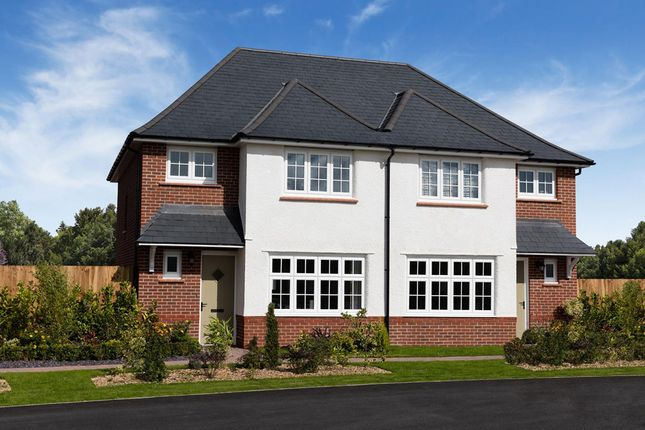 Thumbnail Semi-detached house for sale in Hamilton Gardens, Maidenwell Avenue, Leicester, Leicestershire
