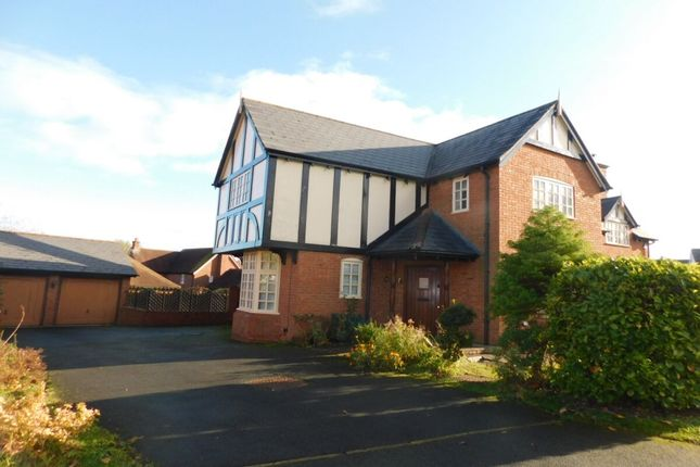 Thumbnail Detached house for sale in Chiltern Close, Weston, Crewe