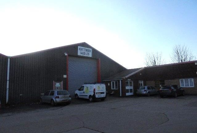 Thumbnail Commercial property to let in The Old Timber Yard Industrial Estate, Manston Road, Ramsgate
