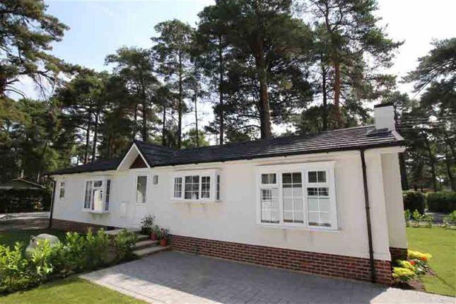 Thumbnail Detached bungalow for sale in Lone Pine Residential Park, Ferndown, Dorset