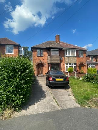 Thumbnail Semi-detached house for sale in Antrobus Road, Sutton Coldfield, Avon