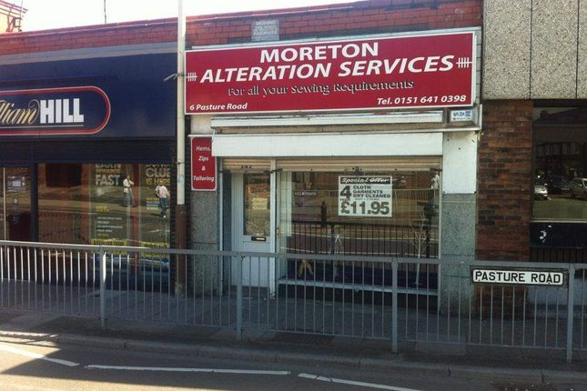 Thumbnail Retail premises for sale in Pasture Road, Moreton, Wirral