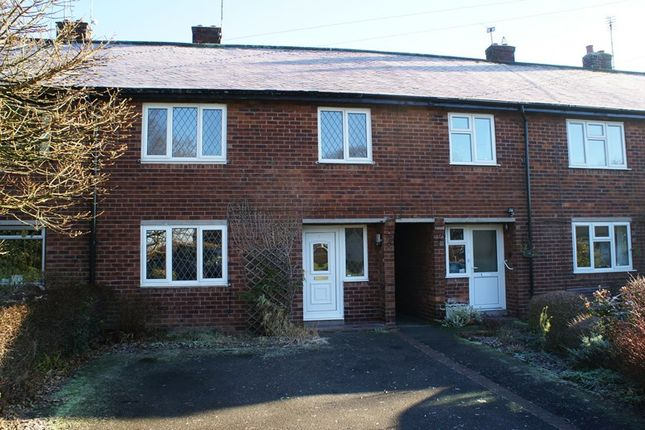 Thumbnail Terraced house to rent in Woodside Close, Siddington, Macclesfield