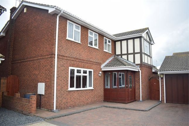 Thumbnail Detached house for sale in Sunningdale, Canvey Island, Essex
