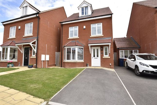 Thumbnail Detached house for sale in New Dawn Close, Bishops Cleeve, Cheltenham