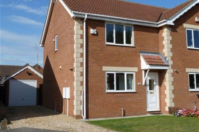 Thumbnail Property to rent in Hurn Close, Ruskington, Sleaford