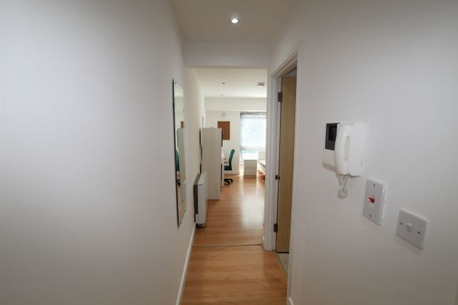 Flat Hallway of Central Park Avenue, Pennycomequick, Plymouth PL4