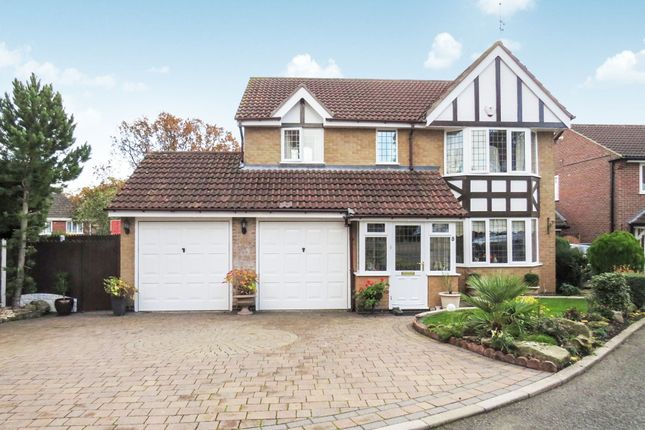 Thumbnail Detached house for sale in Daylesford Close, Littleover, Derby