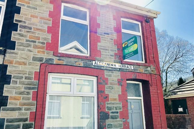 Thumbnail End terrace house to rent in Alexandra Terrace, Cwmaman, Aberdare