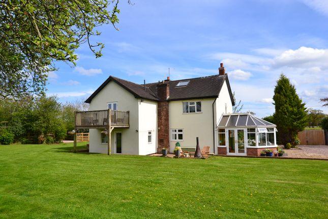 Thumbnail Detached house for sale in Goldstone Road, Hinstock, Market Drayton
