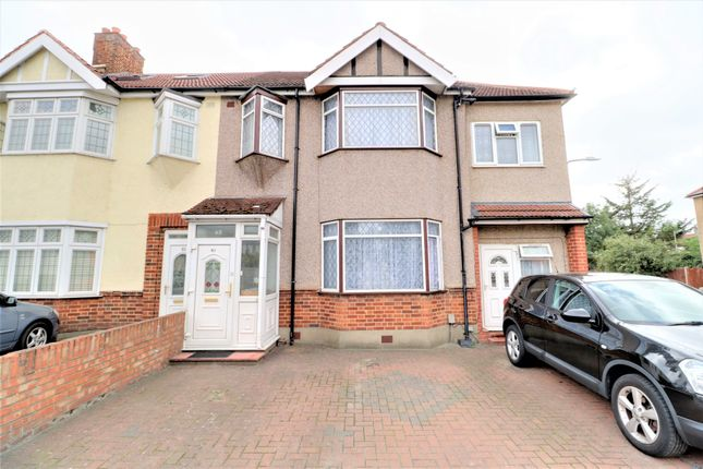 Thumbnail End terrace house for sale in Chadwel Heath Lane, London