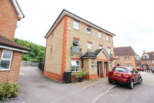 Thumbnail Semi-detached house to rent in Malkin Drive, Church Langley, Harlow, Essex