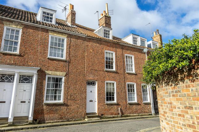 Thumbnail Terraced house for sale in Aldwark, York