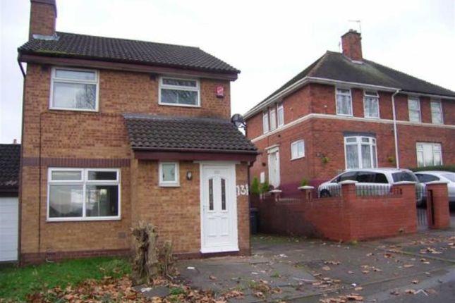 Thumbnail Detached house for sale in Glebe Farm Road, Birmingham