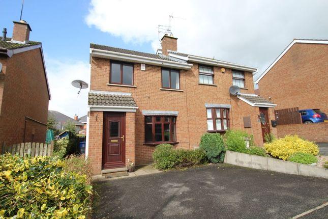 Thumbnail Semi-detached house to rent in Glenwood Court, Ballinderry Upper, Lisburn