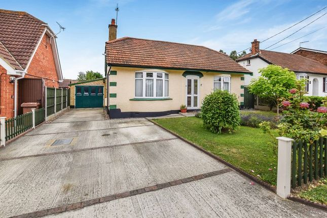 Thumbnail Detached bungalow for sale in Chamberlain Avenue, Corringham, Stanford-Le-Hope