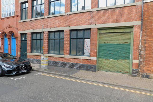 External of Vittoria Street, Hockley, Birmingham B1