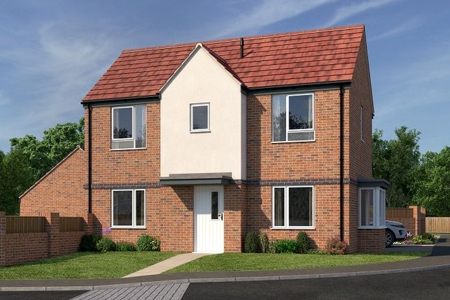 Thumbnail Detached house for sale in Ocker Hill Road, Tipton