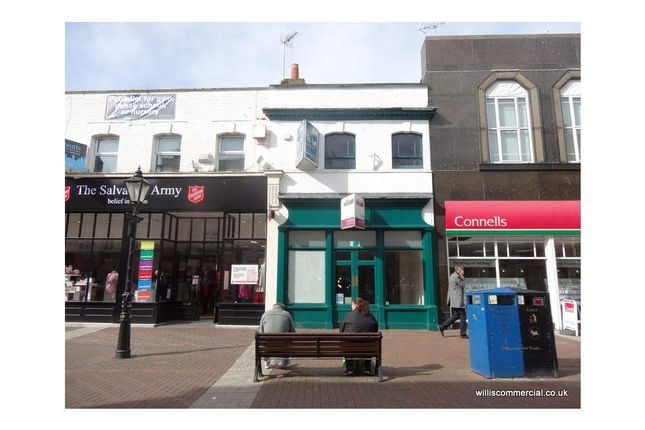Retail premises to let in High Street 78A, Poole, Dorset